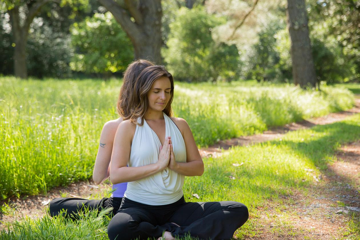 Meditate Lucia Julie sit outside.jpg