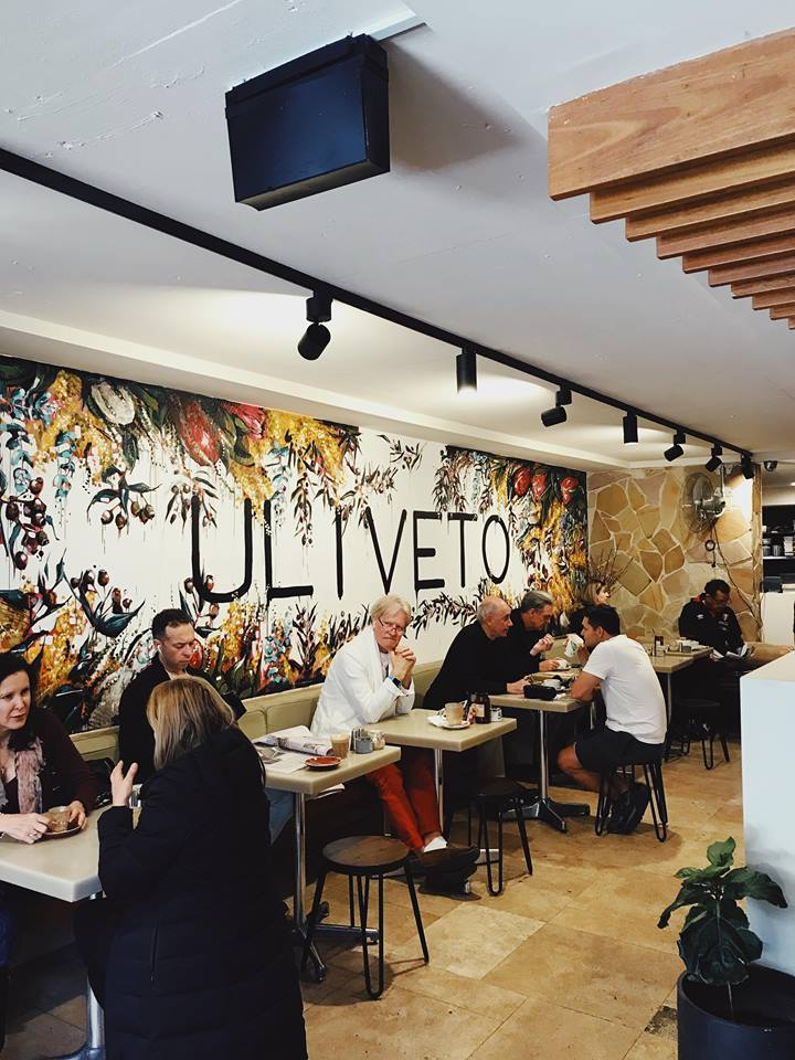 Great interiors with an inside outside option, Uliveto Cafe has ample seating with a great atmosphere.
