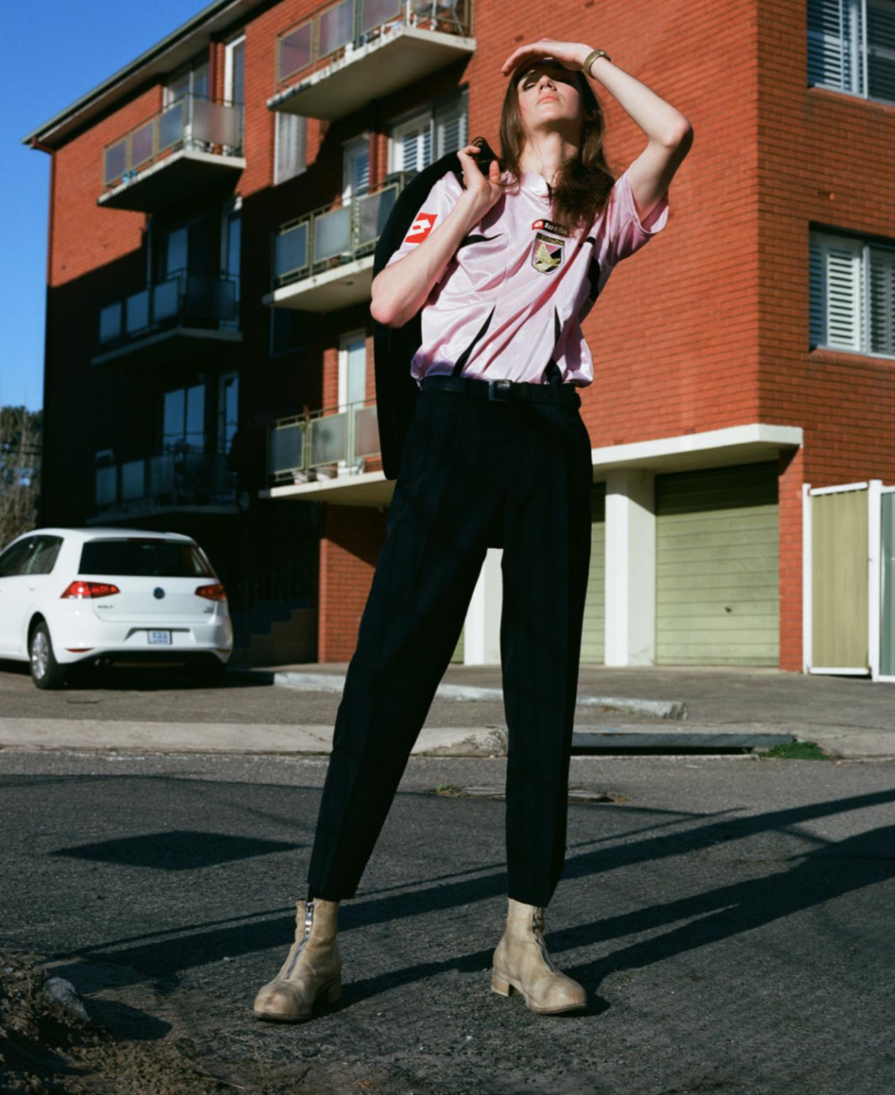 HARRY - PHOTOGRAPHER: VLADIMIR KRAVCHENKO @vladimirnkravchenkoMODEL: HARRISON MCTAVISH  @harry.mp3 @debutmanagementeditorial complete in vintage wardrobe.