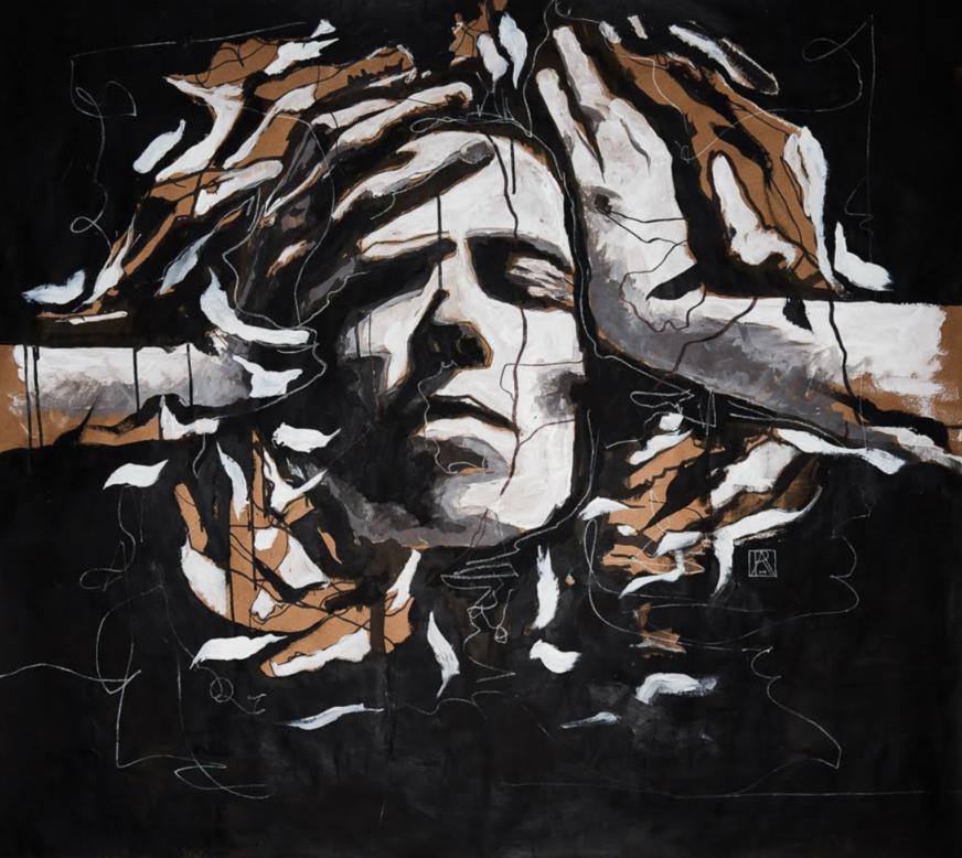 UNMASKED - ALEX RUDIN@_alexrudinalexrudin.com48 x 45 inch