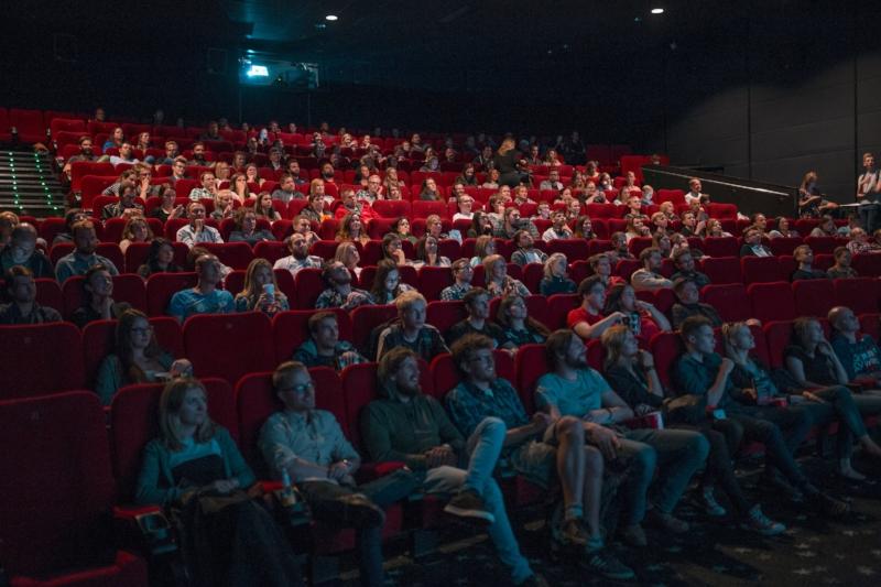 crowd at the cinemas