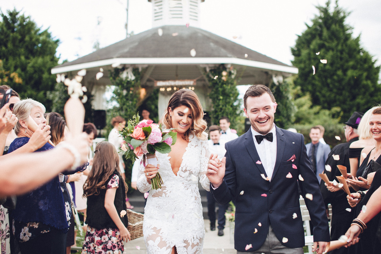 "Jade and Blake had a great - experience with all their vendors, but a special shout out goes to their celebrant, Kristie Wilkinson. ""I have to say, Kristie is amazing,"" Jade tells us. ""She really puts in so much effort to get to know her couples before the day and I feel as though our ceremony was a true representation of us!""  - Jade and Blake, as told to Nouba Magazine[Photo Credit: Studio Something]"