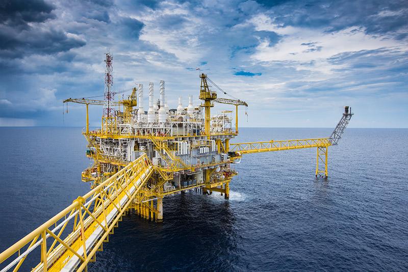 Offshore Oil Drill