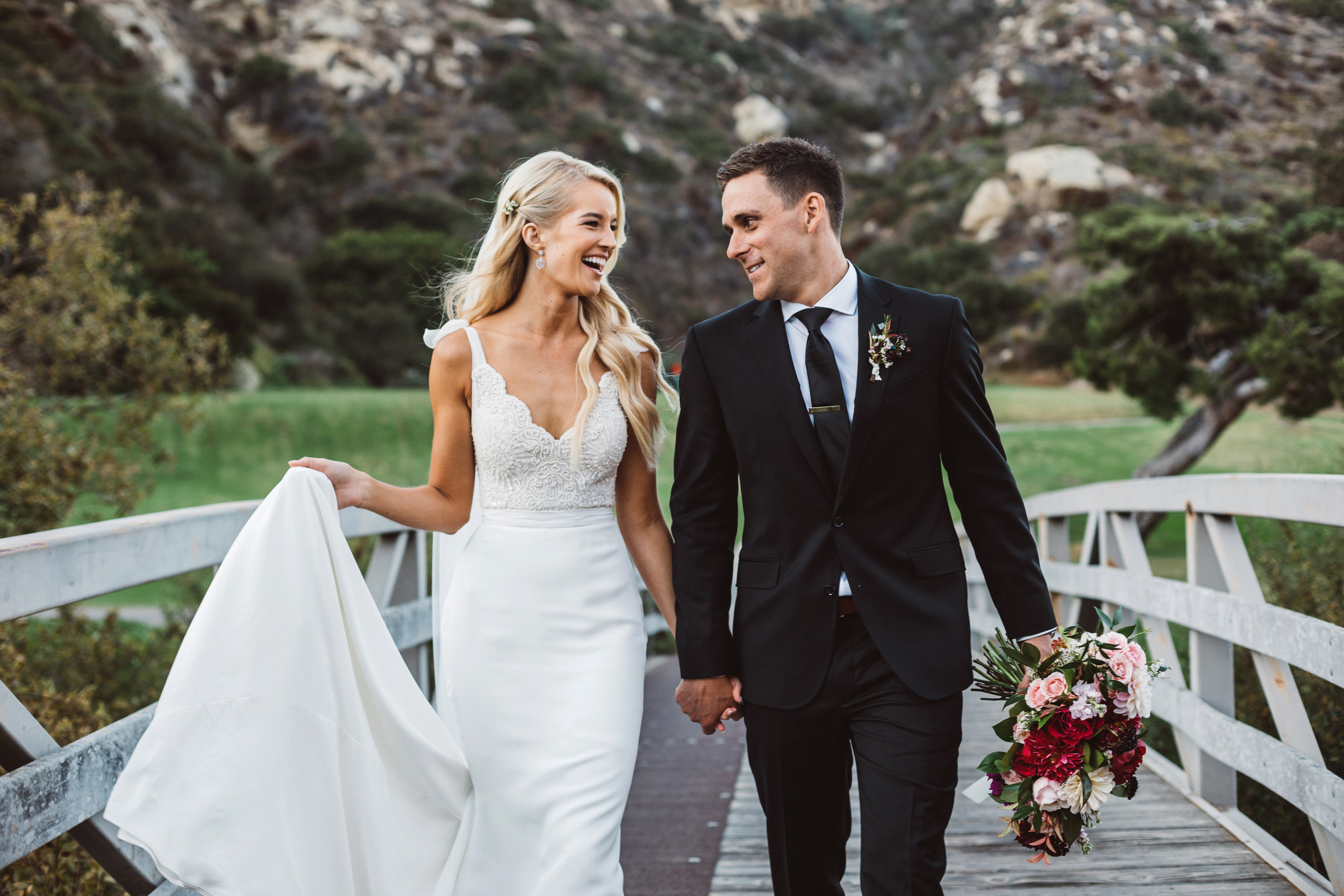 Erica + Mikey Wedding   The Ranch in Laguna Beach, CA.