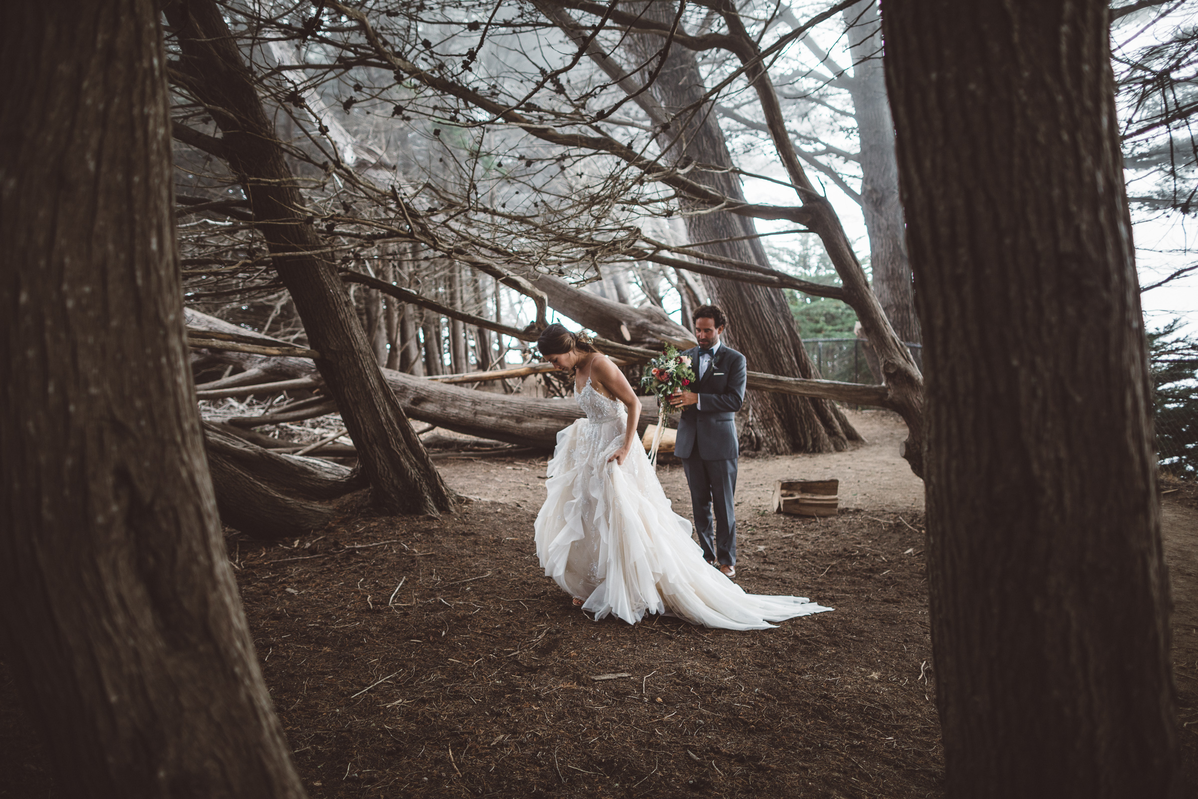 Becca + Mike Wedding    Ragged Point - Big Sur, CA