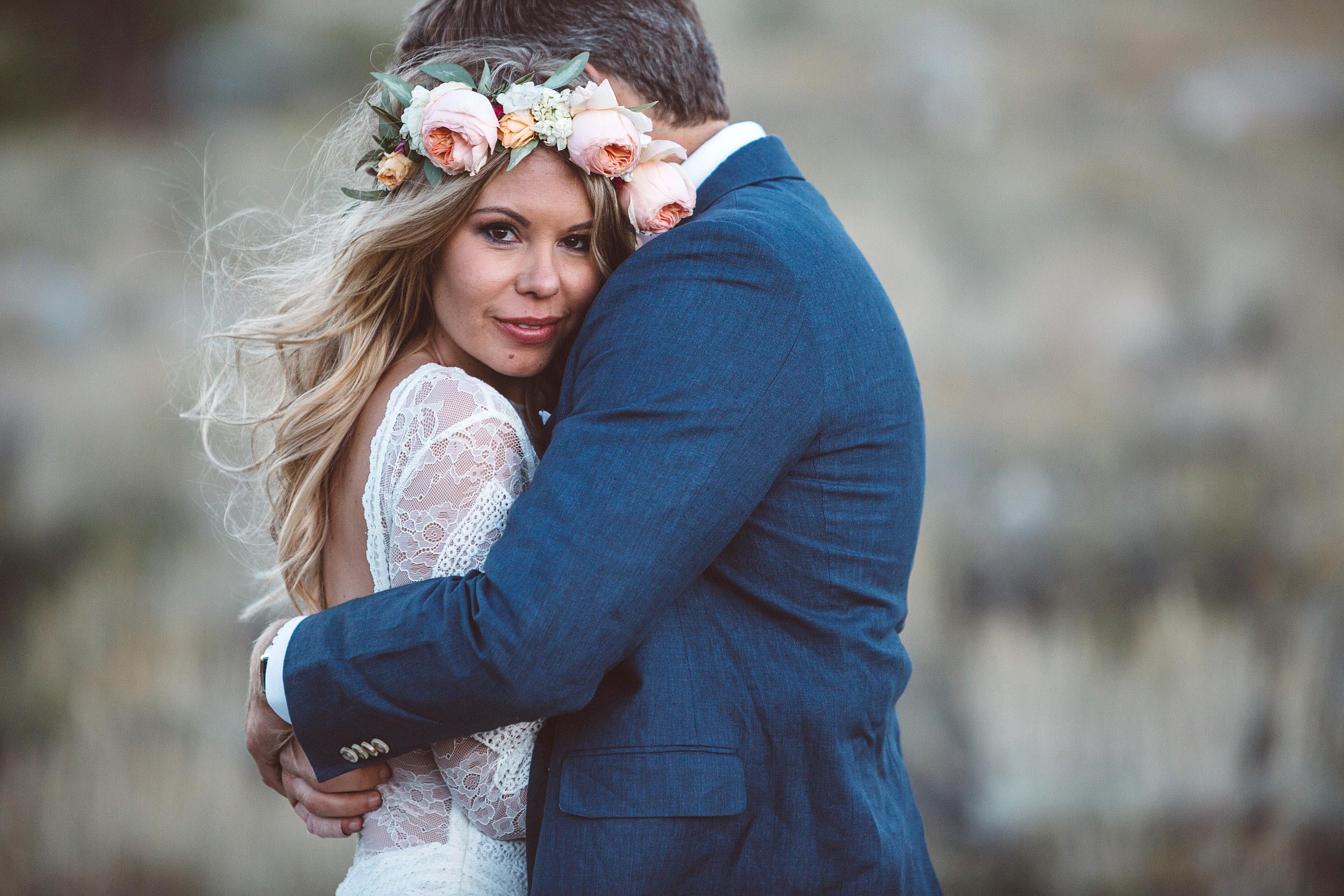 Keely + Kevin Wedding   High-Sierras - Mammoth Lakes, CA