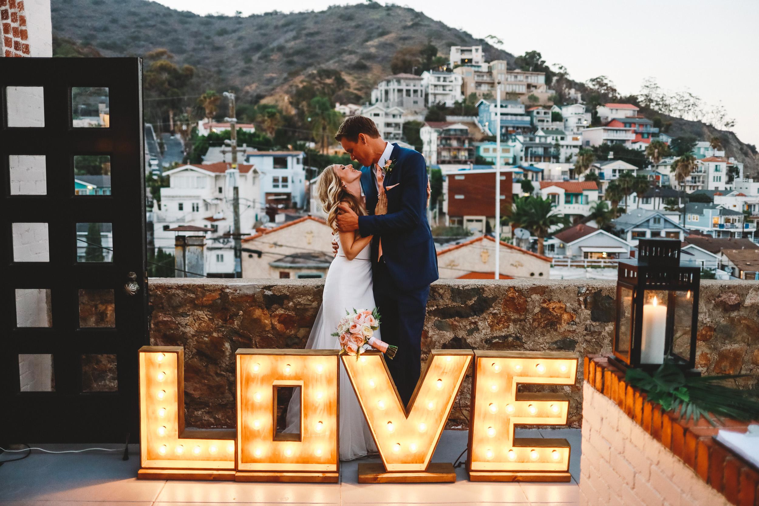 Ava + Kyle Wedding   Catalina Island - Avalon, CA.