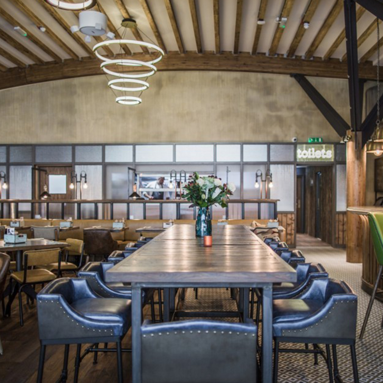The Bull Bracknell refurbished pub interior