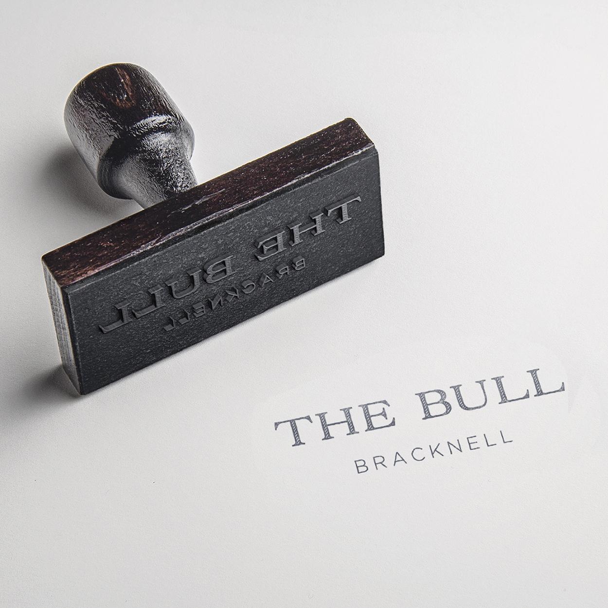 The Bull Bracknell new logo stamp