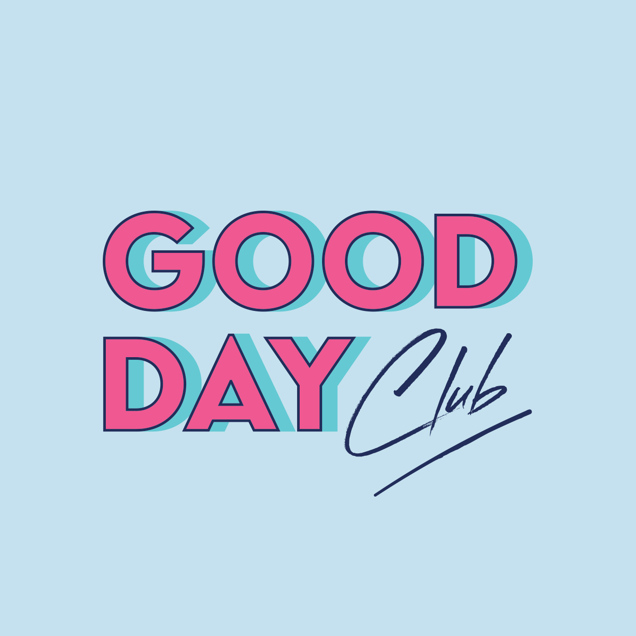 Good Day Club new logo