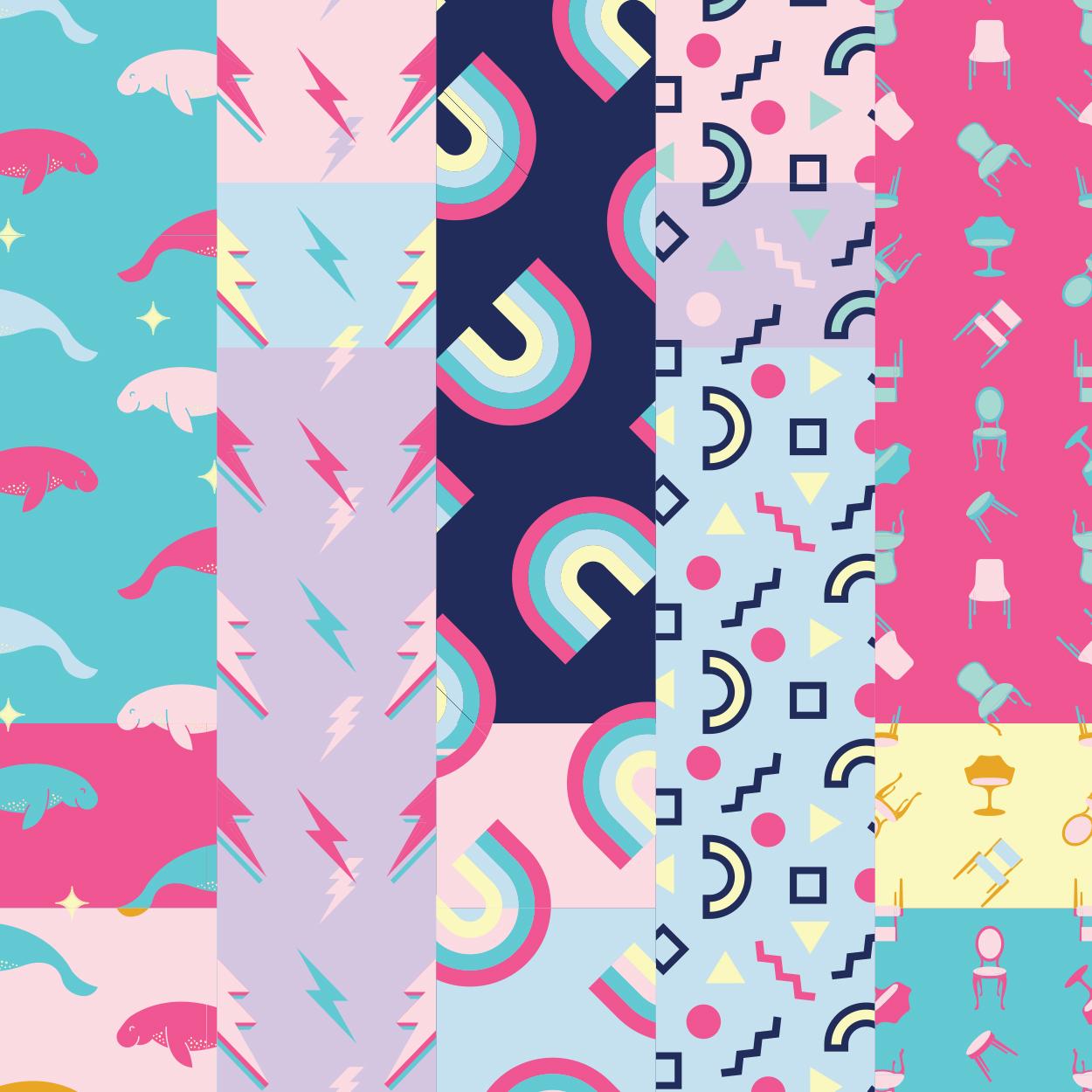 Good Day Club custom patterns