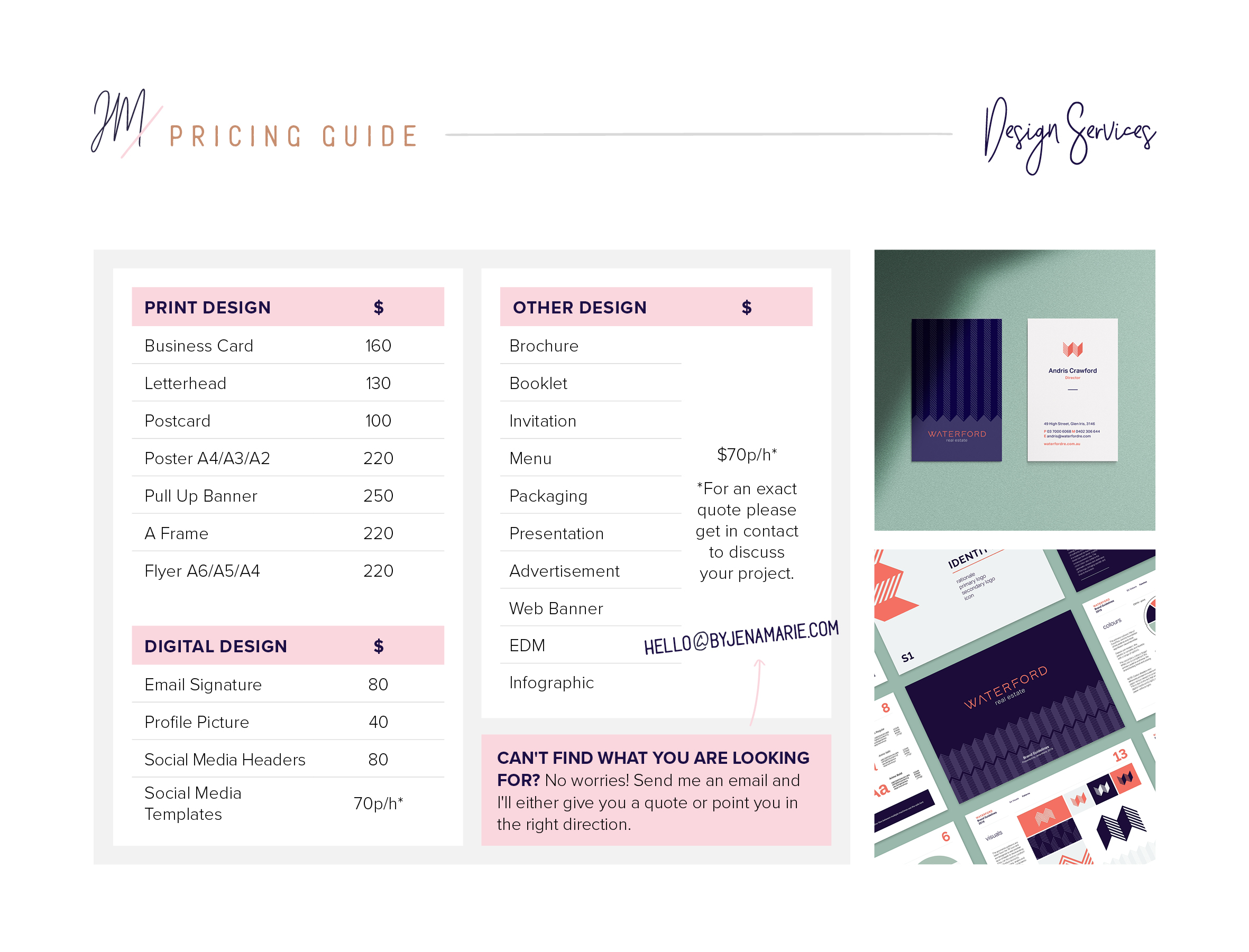 Pricing Guide - Click to view
