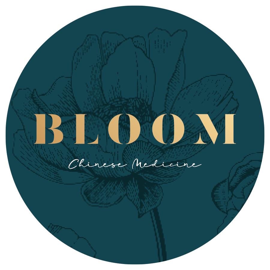 Bloom Chinese Medicine logo mockup option 2