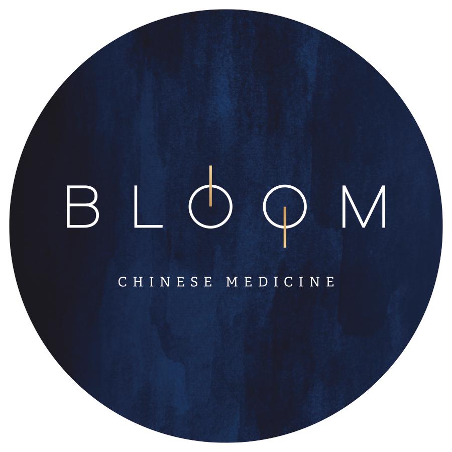Bloom Chinese Medicine logo mockup option 3