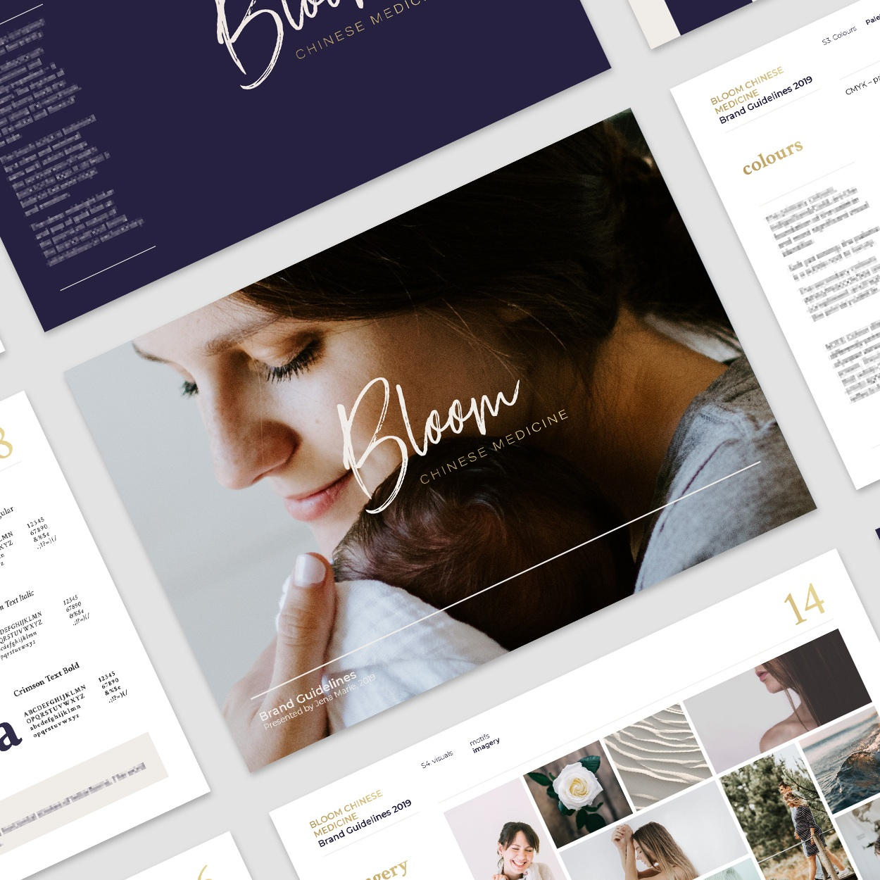 Interested to know more about the branding process? - Check out this in-depth case study which details my branding process for Bloom Chinese Medicine.