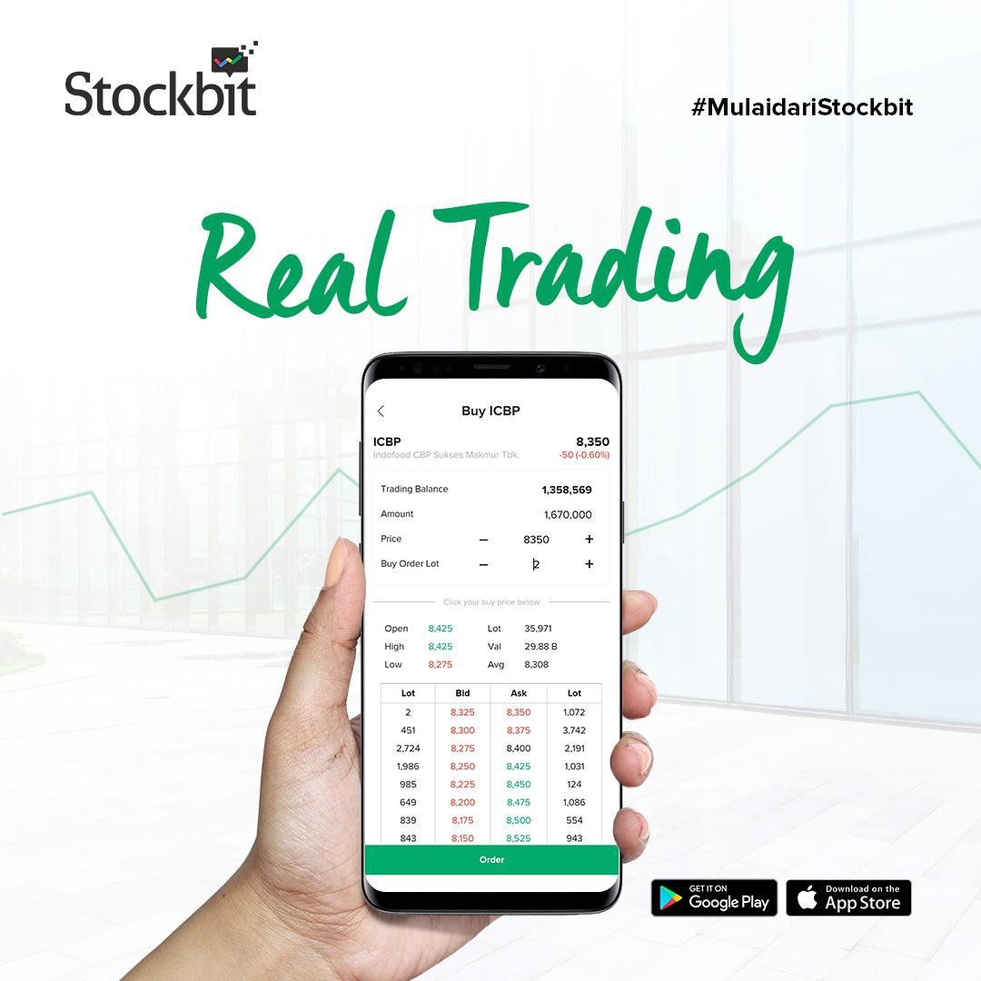 Stockbit Real Trading: Cara Baru Investasi Saham Online — Stockbit Snips
