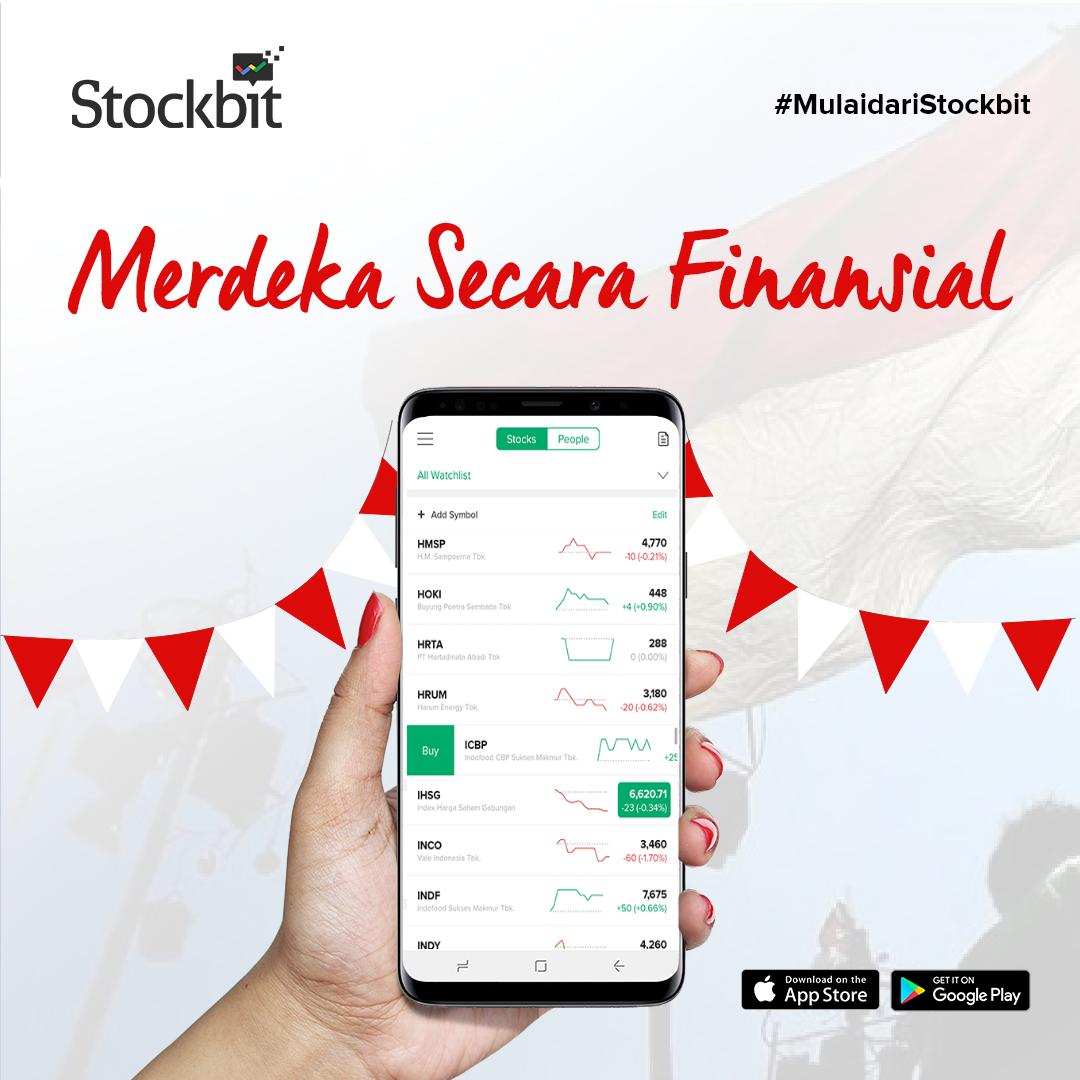 Stockbit Merdeka Finansial