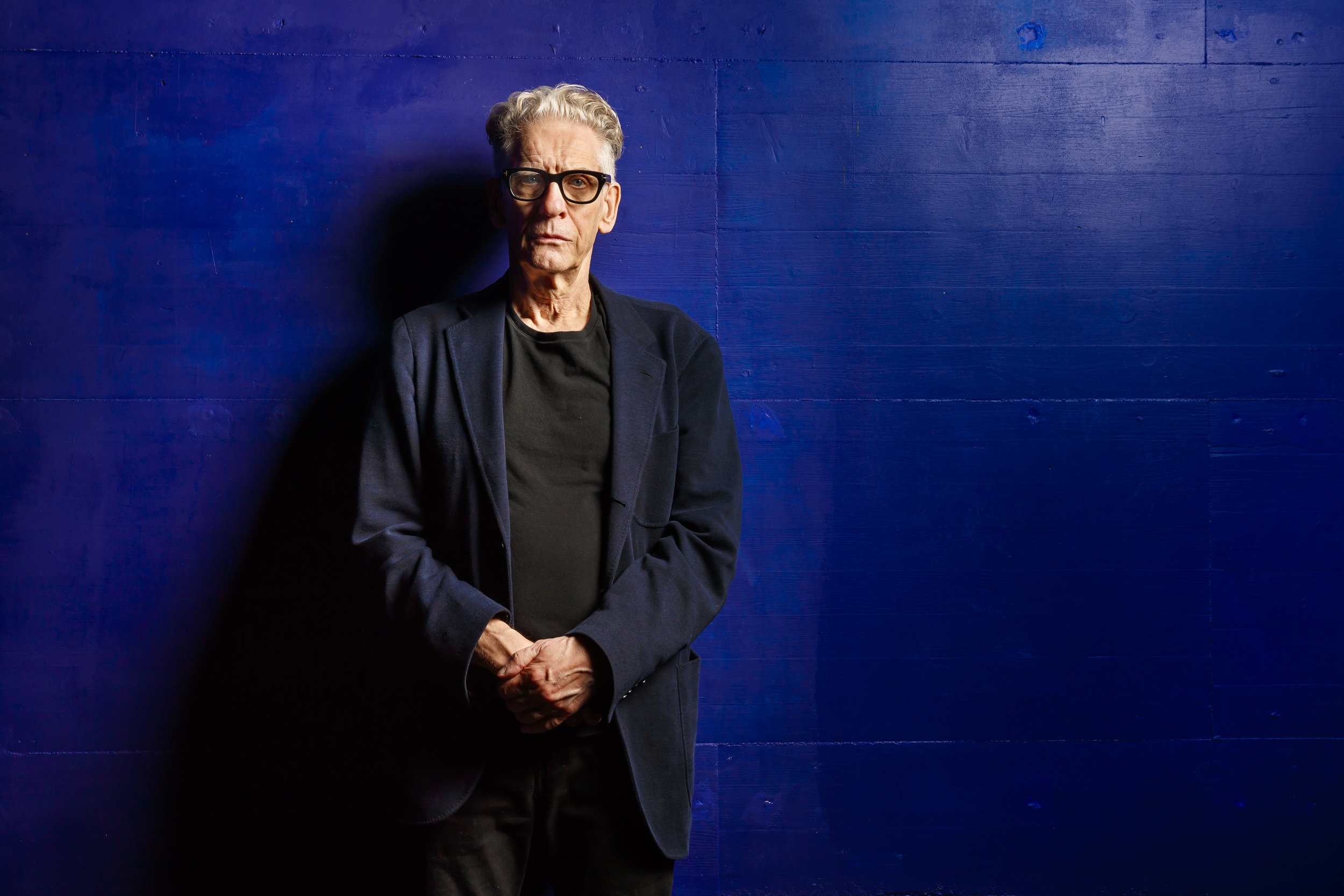 Canadian film director, screen writer and actor David Cronenberg poses for a portrait during the Neuchatel International Fantastic Film Festival (NIFFF) in Neuchatel, Switzerland, Sunday, July 8, 2018. (KEYSTONE/ Valentin Flauraud)
