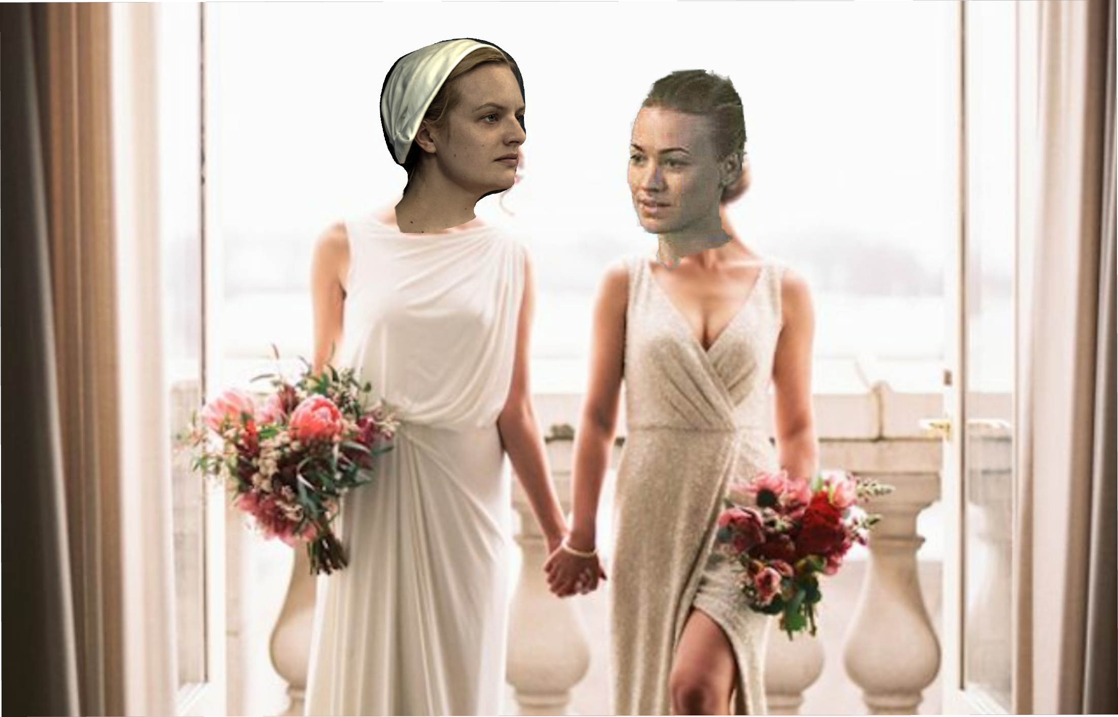 Serena and Offred Marriage - The Handmaid's Tale
