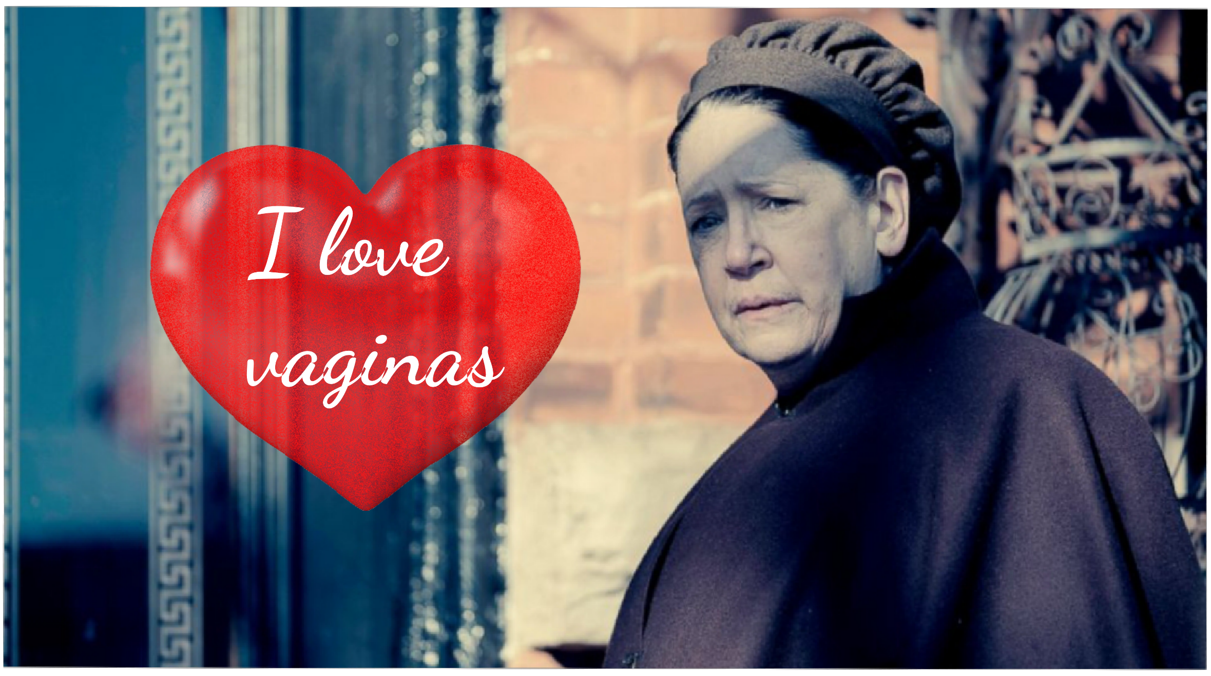 Aunt Lydia obsessed with vagina - Handmaid's Tale