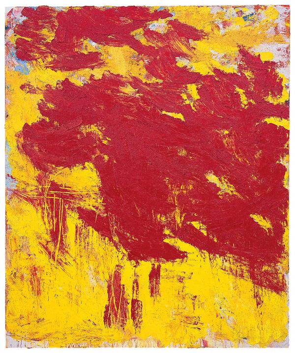 AIDA TOMESCU   Thor , 2007  oil on canvas  184 x 154 cm