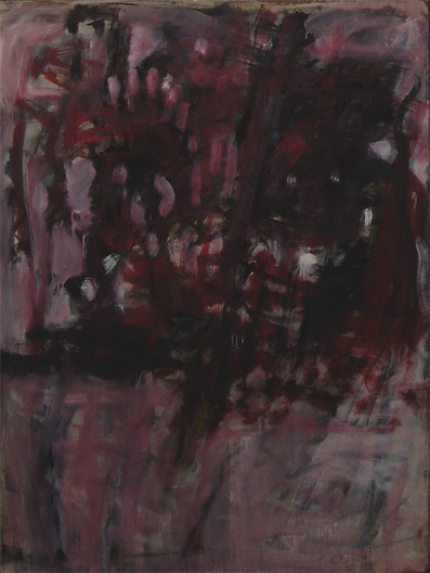 TONY TUCKSON   TP27 Red Purple , circa 1958 - May 1961  oil on composition board  122 x 91.6 cm