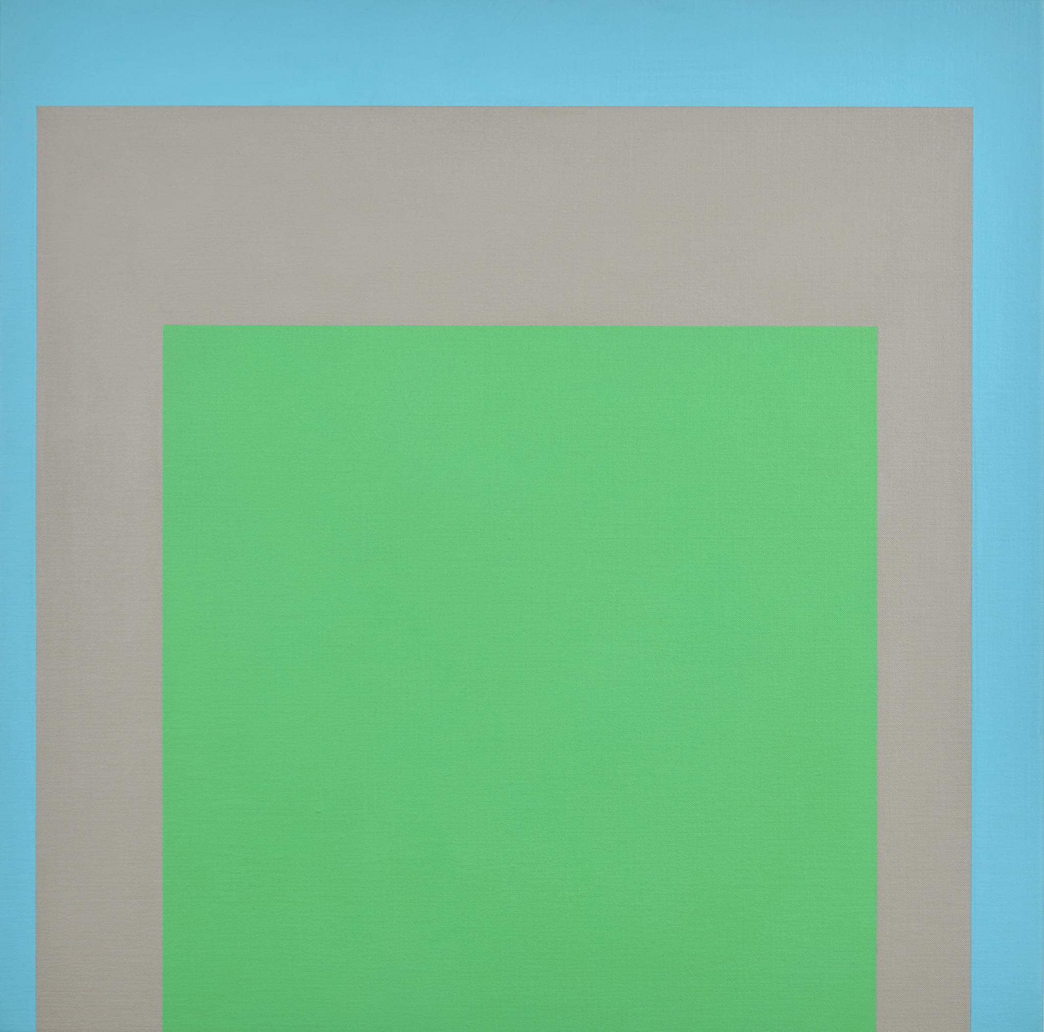 Open Air 1 , 2015  acrylic on Belgian linen  95 x 95 cm