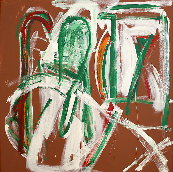 Straight No Chaser , 2018  acrylic on canvas  152 x 152 cm