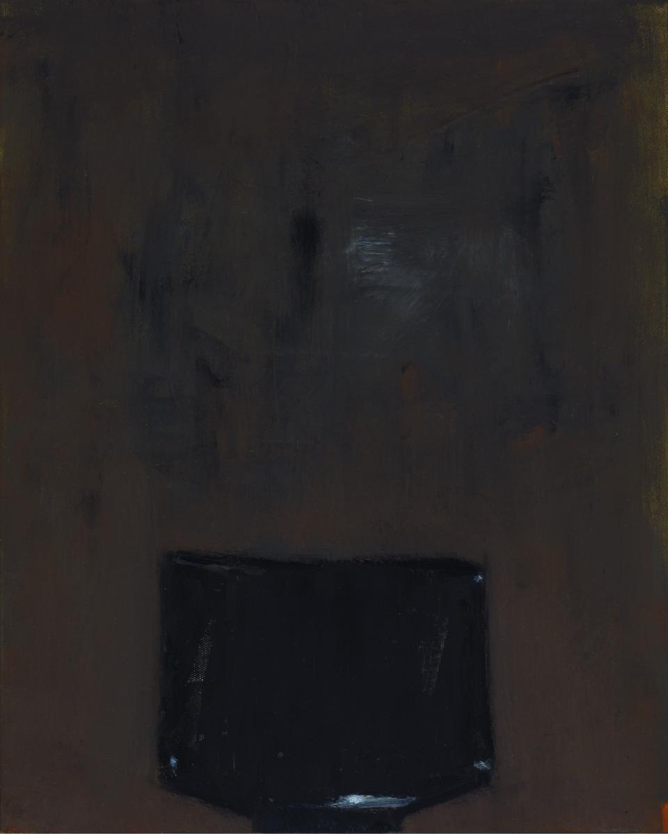 Black tea bowl, 2017  oil on canvas  51 x 41 cm