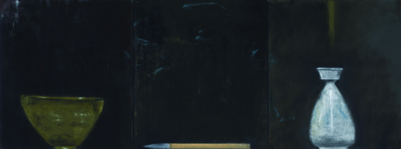 untitled , 2015  oil on canvas  46 x 122.5 cm