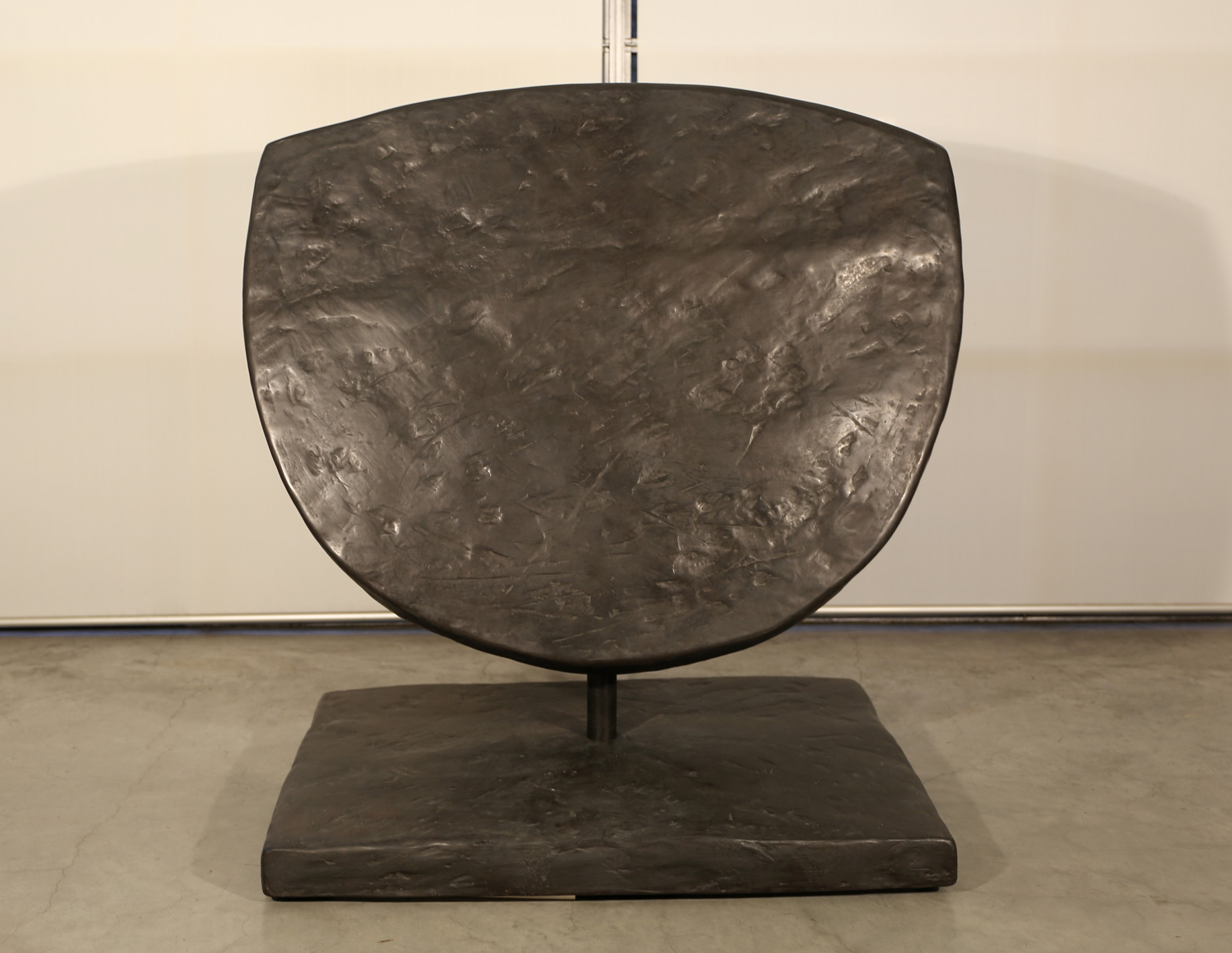 Marea Gazzard   Selini I , 2009  bronze, black patina, edition 5 of 5  100 x 97 x 63 cm