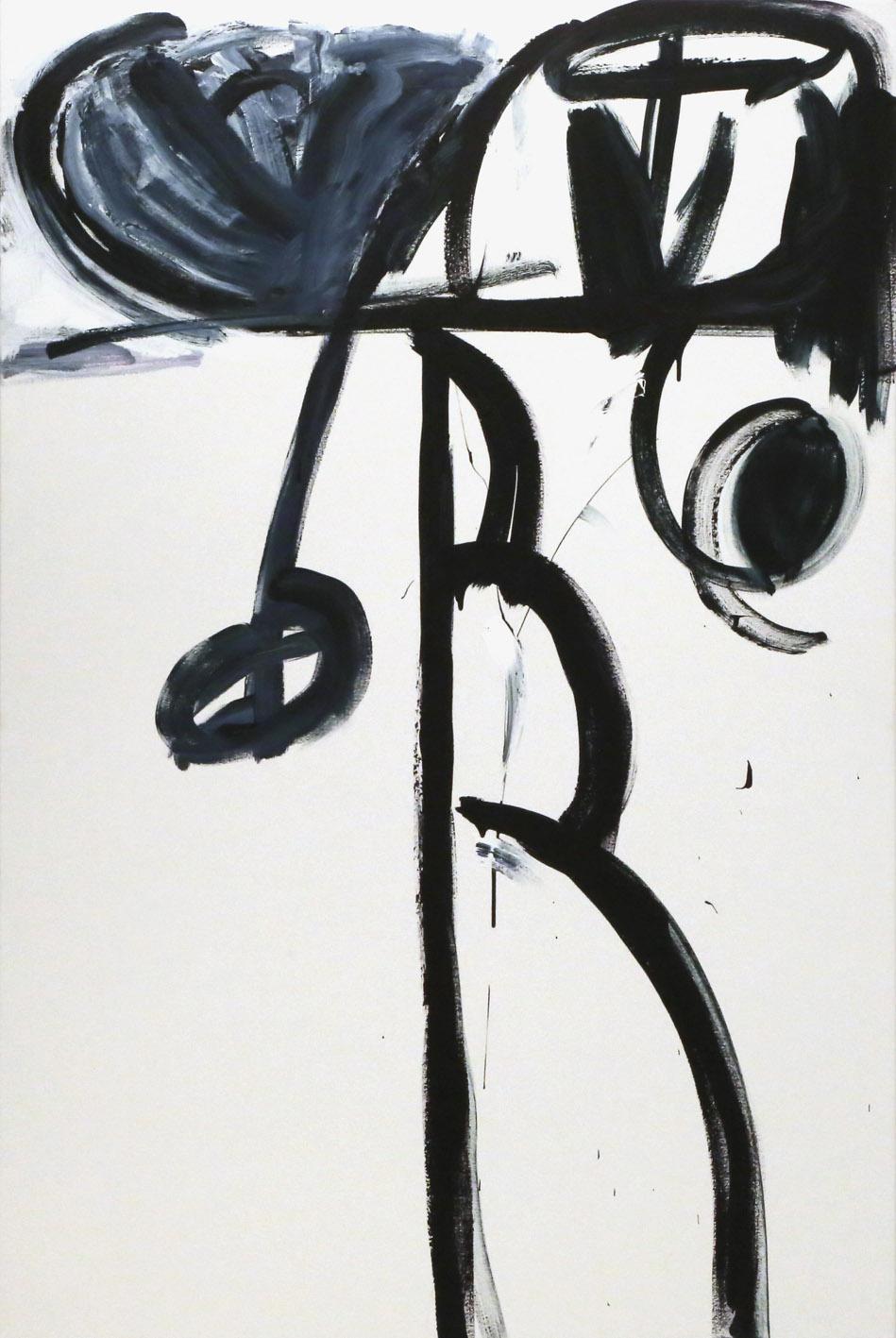 Babel , 2016  acrylic on canvas  183 x 122 cm