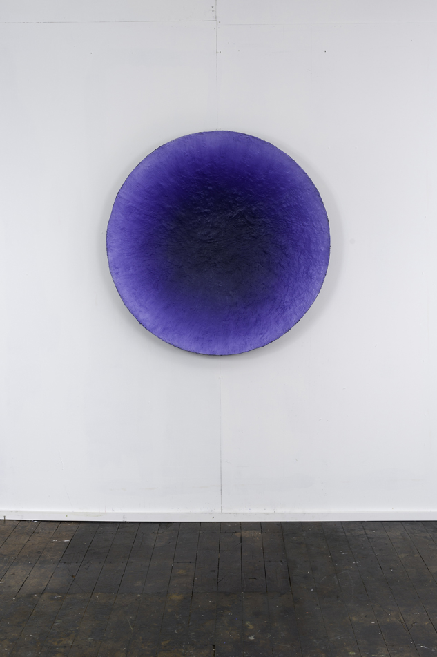RH 259 Port Jackson, Sydney (1759 140916)  2016  moulded oil paint, synthetic polymer, gypsum, CSM, marble dust, wax, Tasmanian oak, marine ply and aluminium  106 x 106 x 13 cm