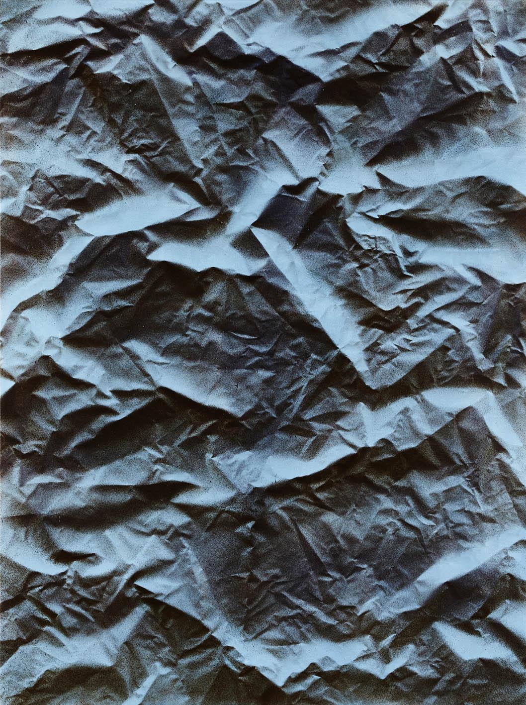 Igneous 2 , 2017  acrylic on polyester  183 x 137 cm