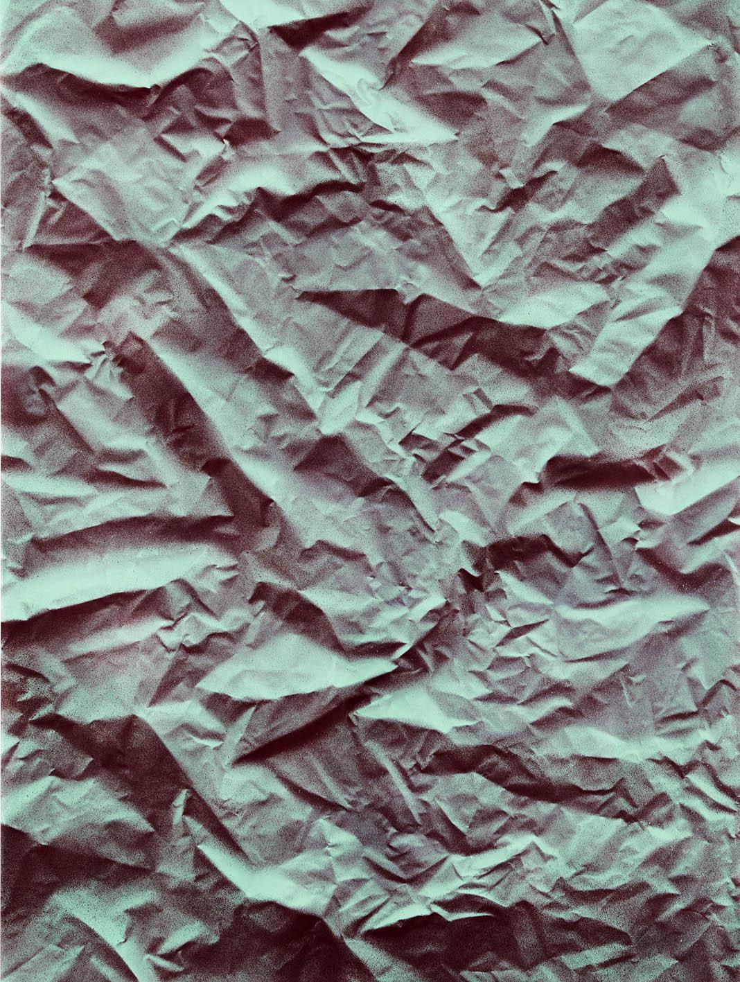Igneous 4 , 2017  acrylic on polyester