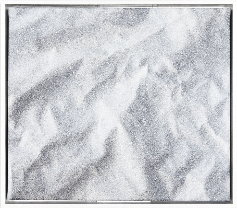 Igneous 9 , 2017  acrylic on polyester
