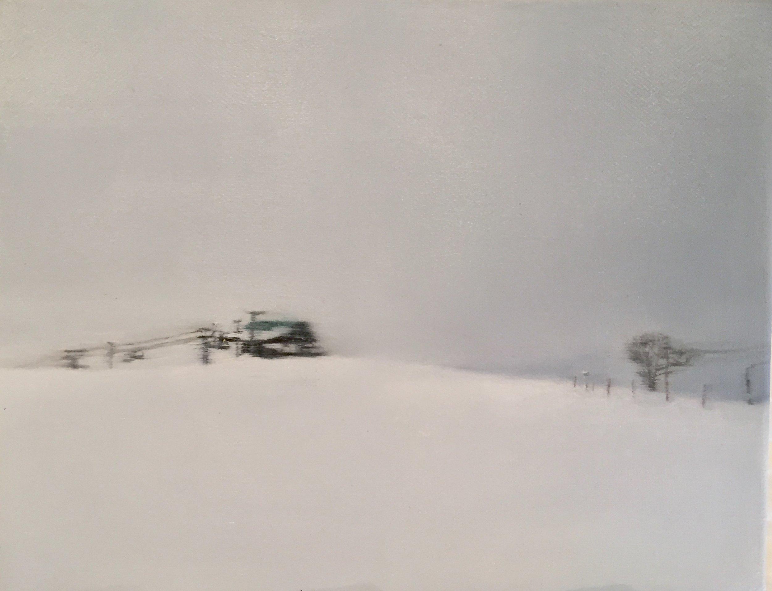 AMELIA CARROLL   image.70 , 2017  oil on canvas  20 x 25.4 cm