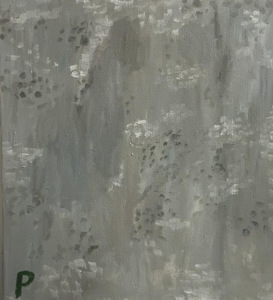 NICK COLLERSON   Pavement, 2016  oil on linen  61 x 56 cm