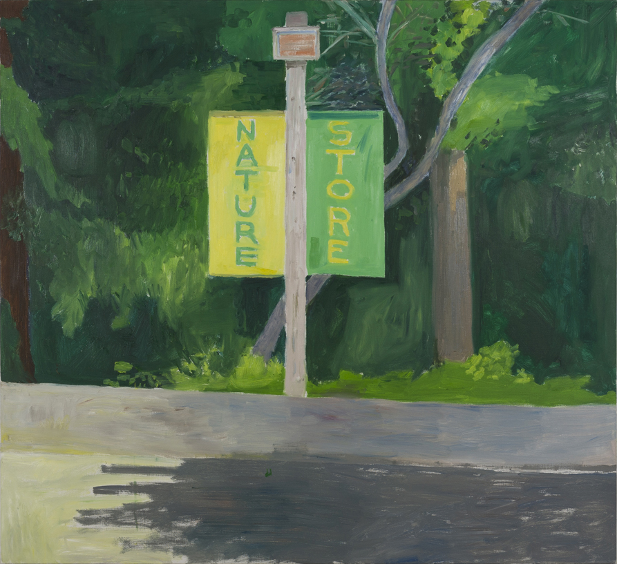 NICK COLLERSON   Nature Store , 2017  oil on linen  167.7 x 183 cm