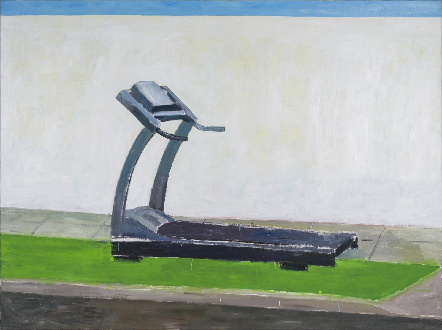 NICK COLLERSON  Despacito (remix) , 2018 oil on linen 137 x 183 cm