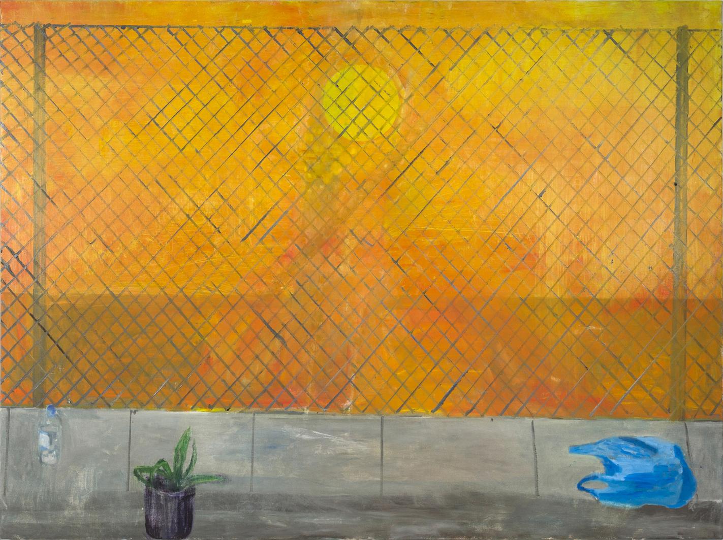 NICK COLLERSON  Symphony , 2018 oil on linen 137 x 183 cm