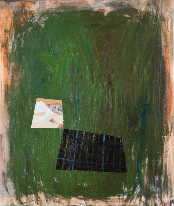 NICK COLLERSON  Fall 1987 , 2016 oil on linen 97 x 81.5 cm