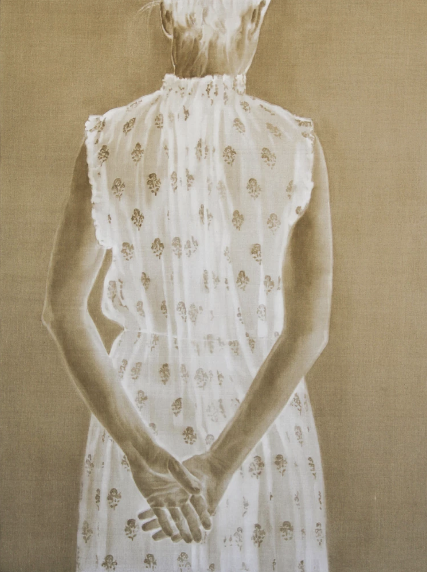 JACQUELINE HENNESSY  The Dress I , 2017 oil on linen 122 x 91.5 cm9