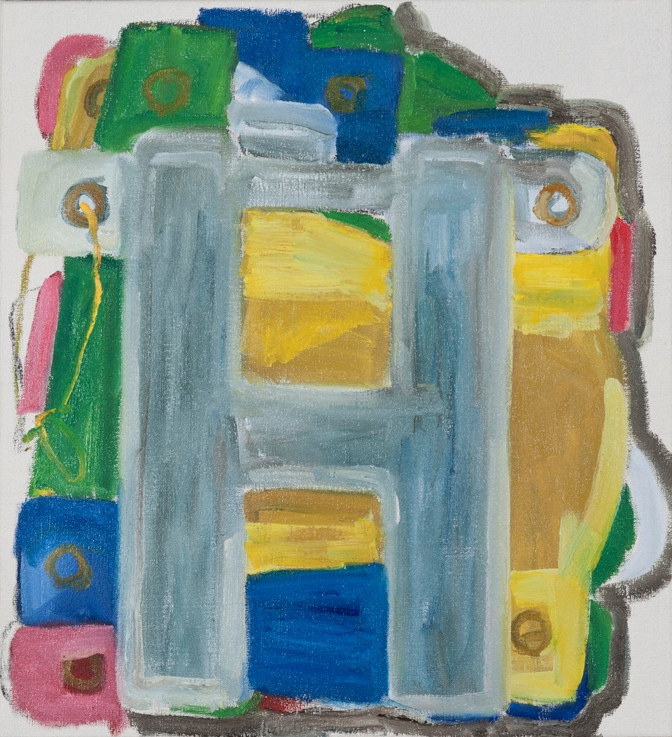 NICK COLLERSON  Happy Birthday , 2016 oil on linen 61 x 56 cm
