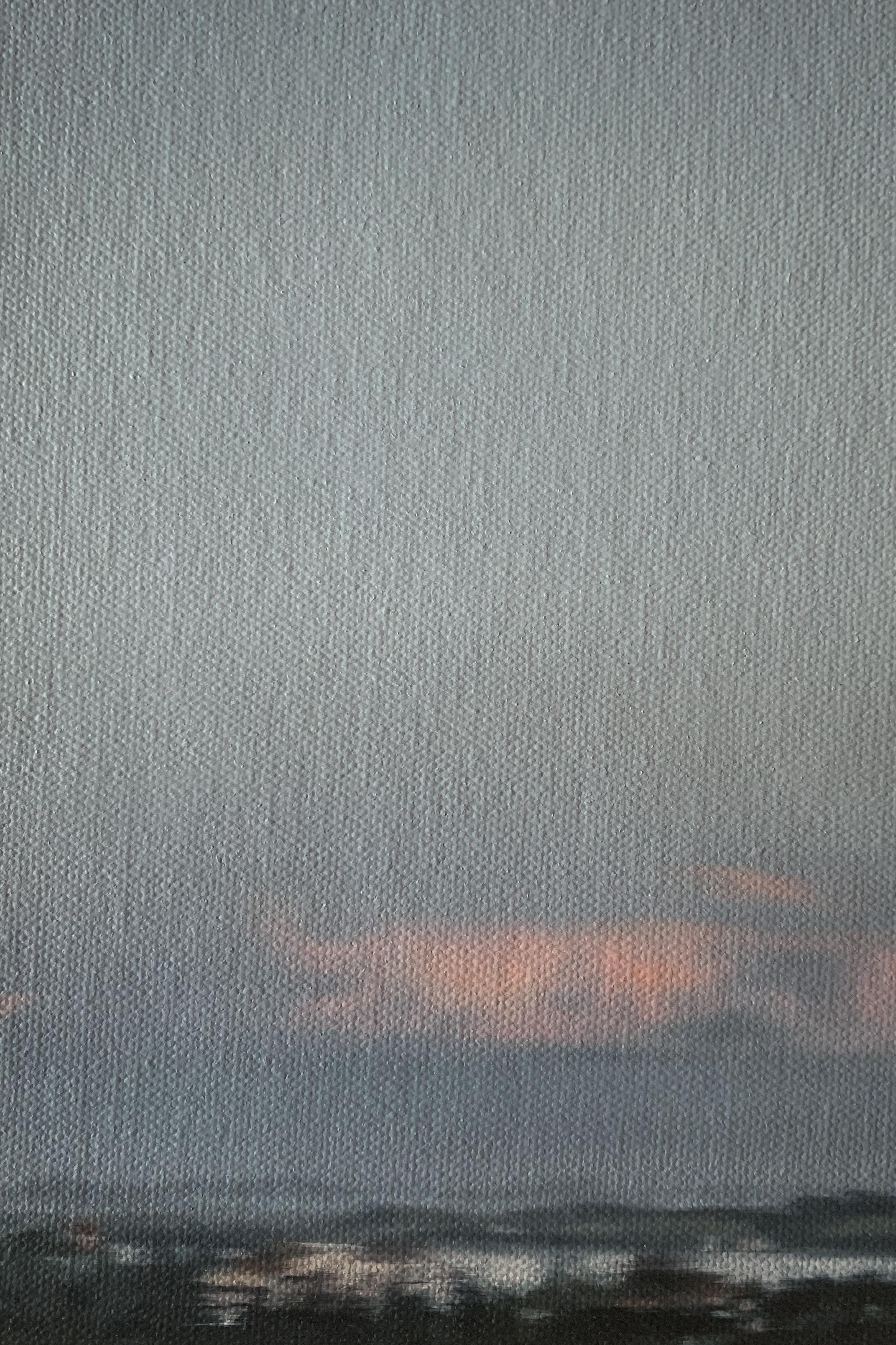 AMELIA CARROLL  image.80 , 2019 oil on canvas 18 x 12.5 cm