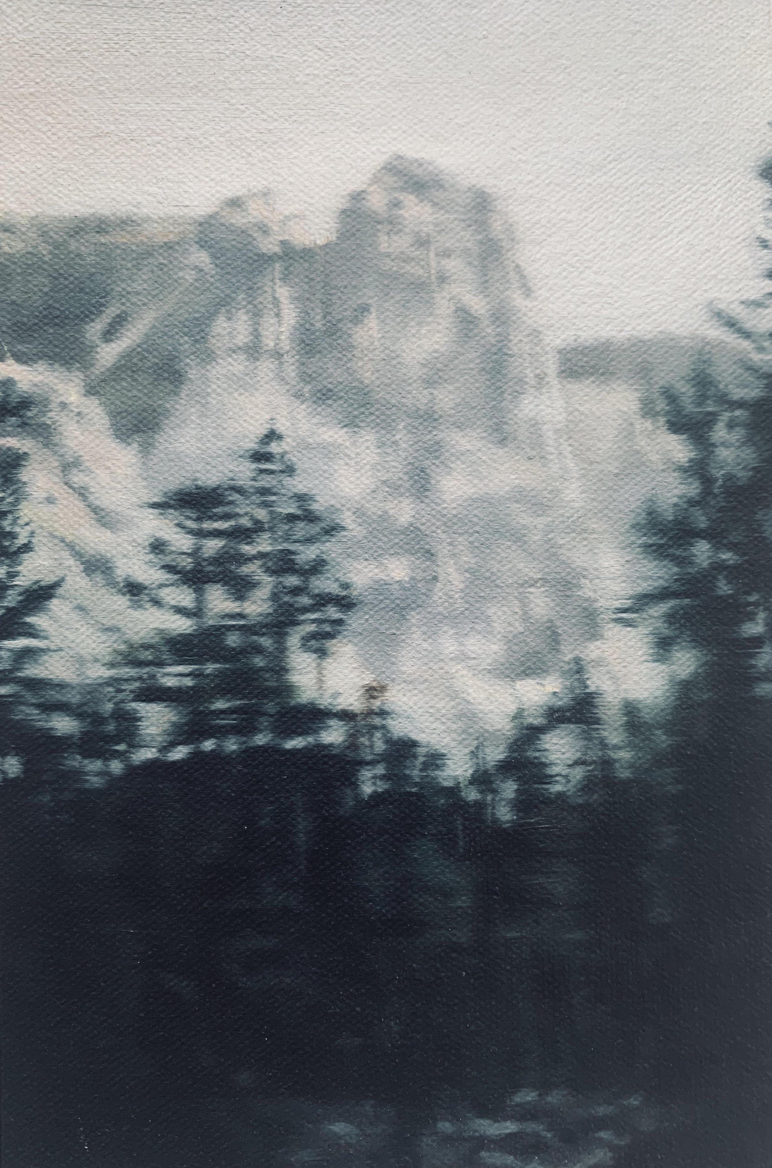 AMELIA CARROLL  image.82,  2019 oil on canvas 18 x 12.5 cm