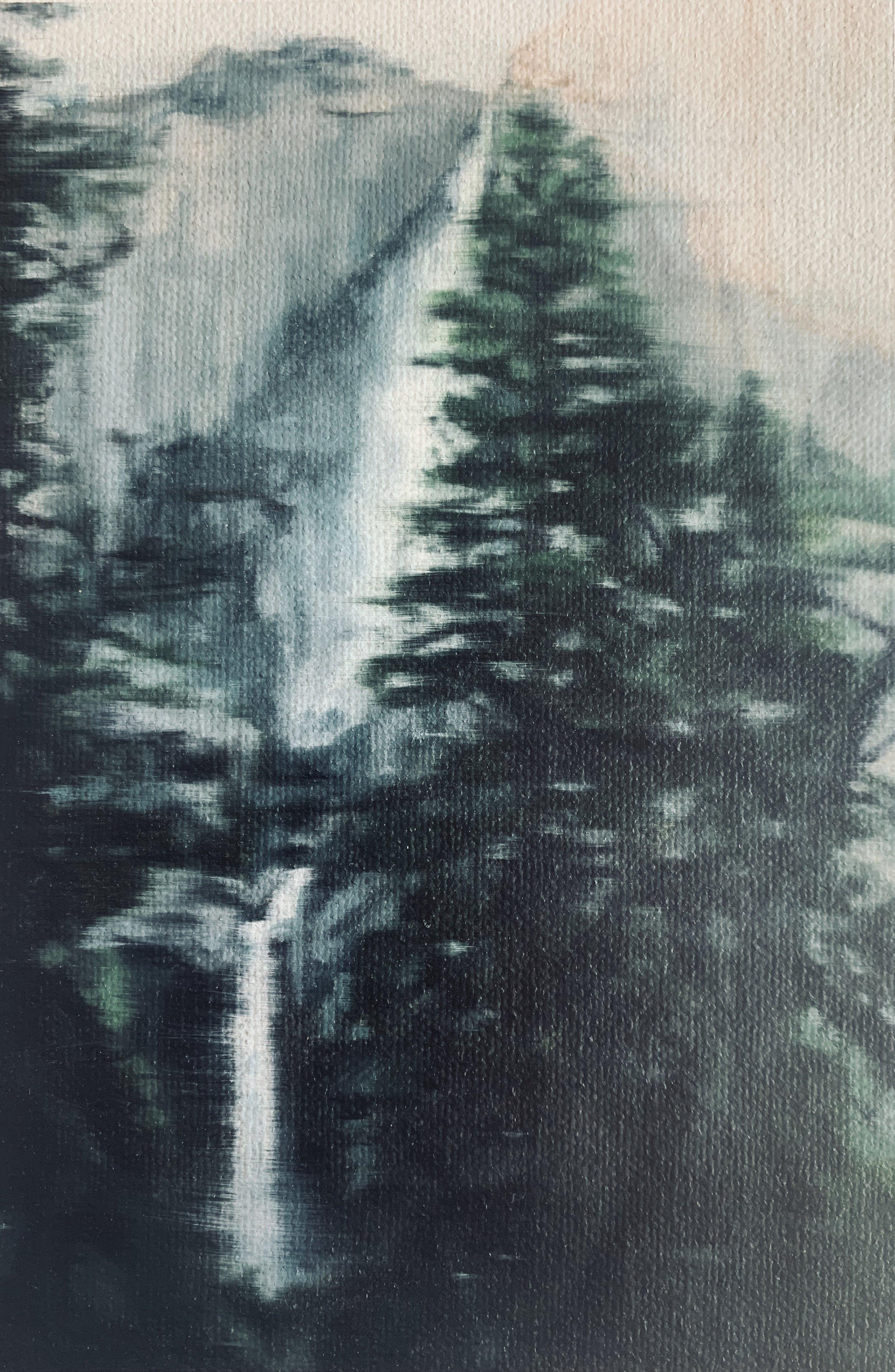 AMELIA CARROLL  image.83 , 2019 oil on canvas 18 x 12.5 cm