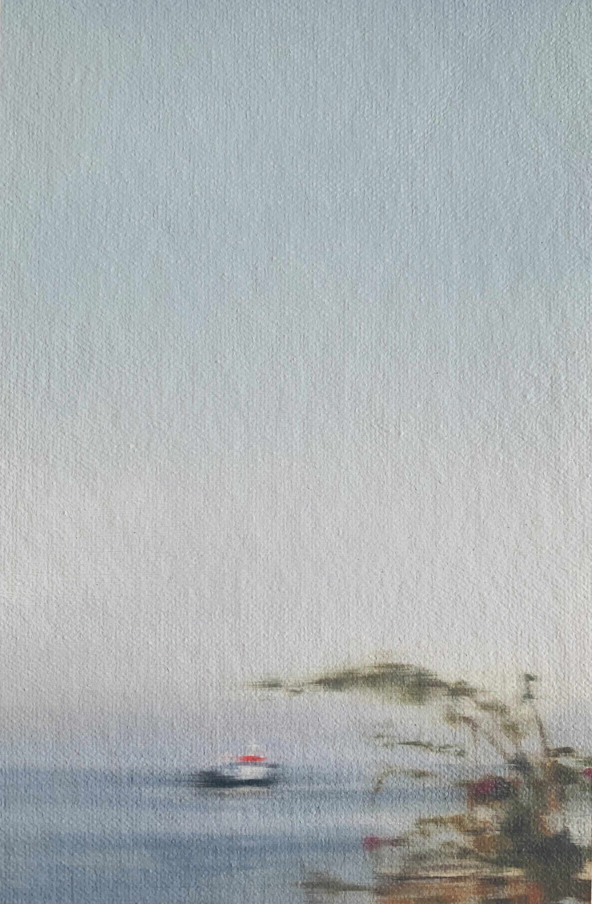 AMELIA CARROLL  image.84 , 2019 oil on canvas 18 x 12.5 cm