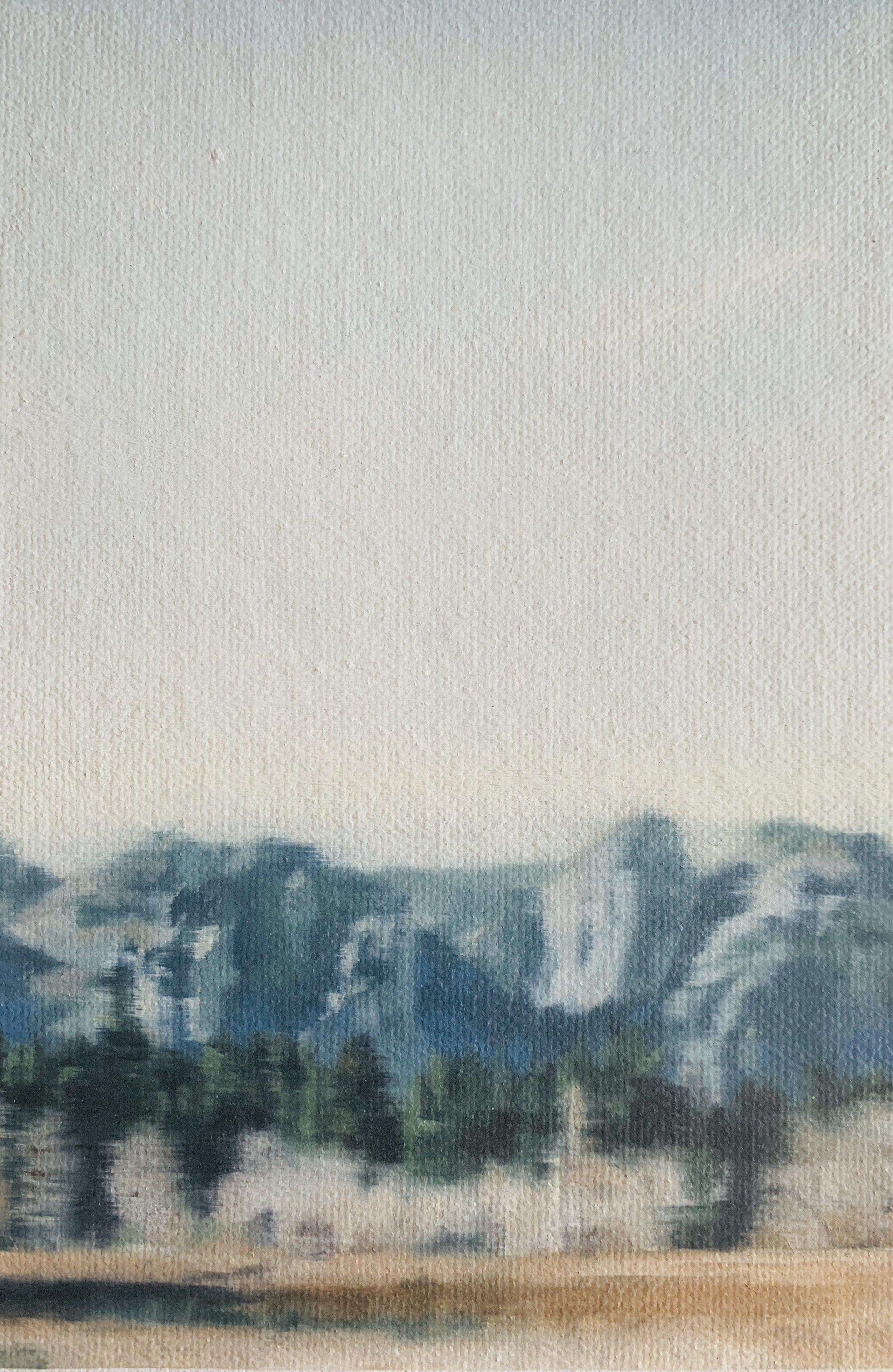 AMELIA CARROLL  image.87 , 2019 oil on canvas 18 x 12.5 cm
