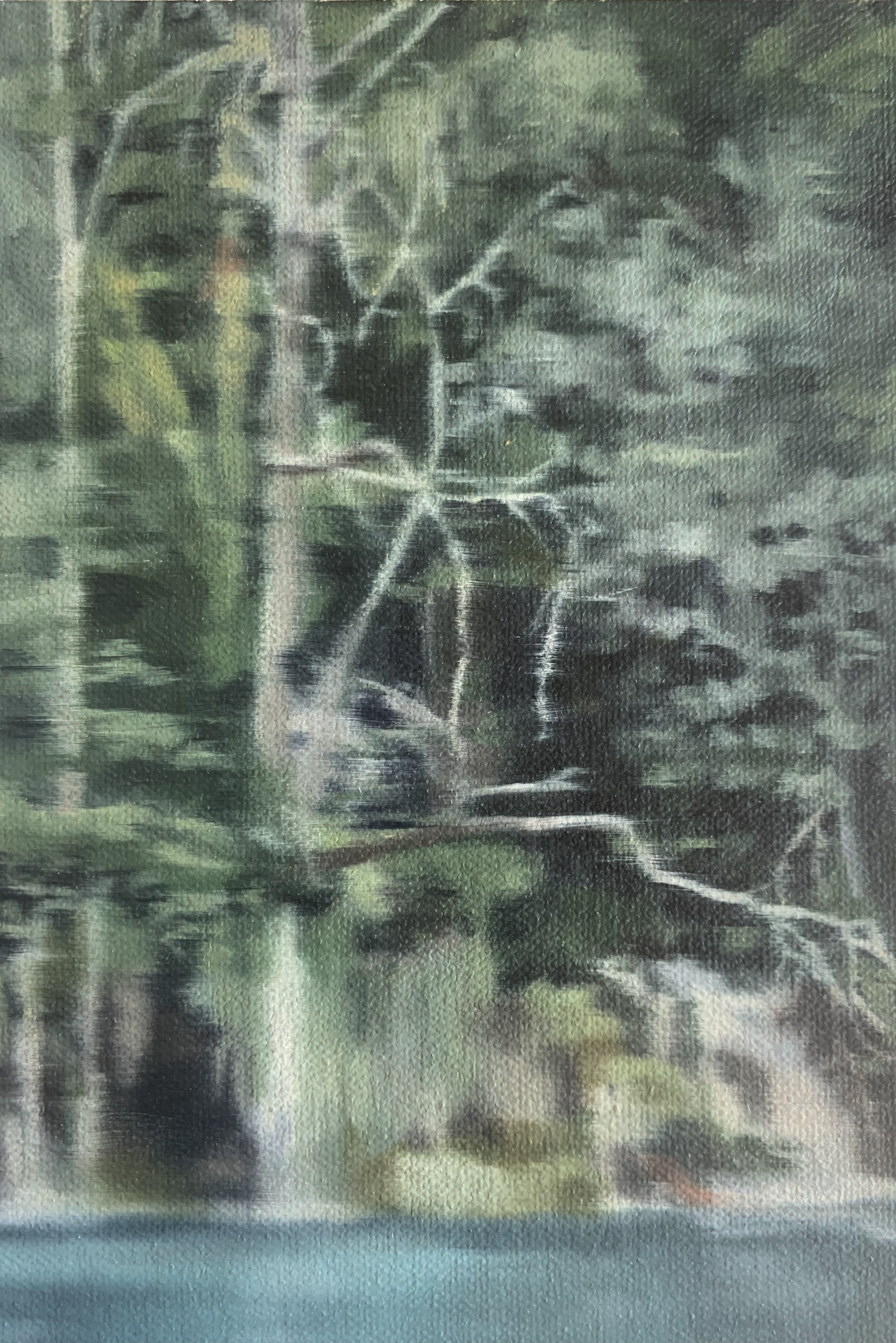 AMELIA CARROLL  image.92 , 2019 oil on canvas 18 x 12.5 cm